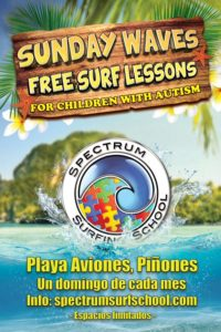 Surfing Lessons Puerto Rico for Autistic Children
