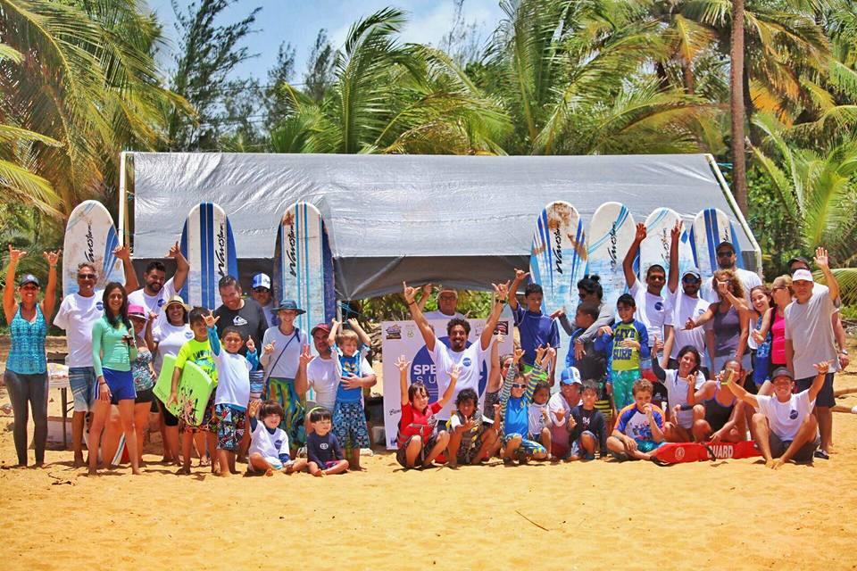 Spectrum Surf School PR Event Photo