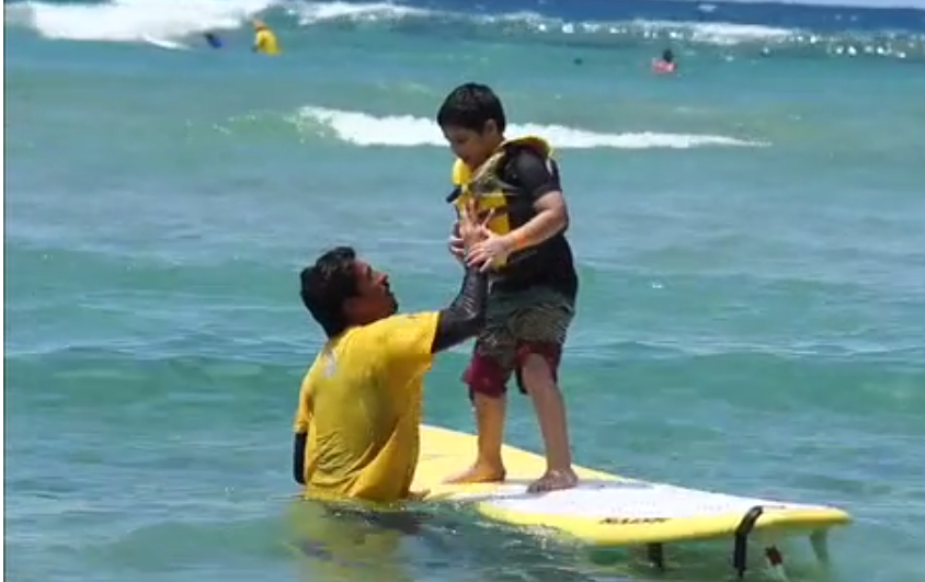 Surf Therapy for Autistic Children in Puerto Rico