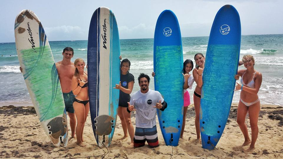 Family Surf Lessons San Juan Puerto Rico